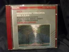 J.S. BACH-the Brandenburg Concertos 4,5 & 6-Raymond Leppard/English Chamber O.
