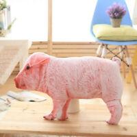 Cute Pig Stuffed Animal Pillow Plush Soft Doll Toy Cushion Kid Birthday Gift LA
