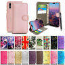 For Samsung A10 20 30 A40 50 60 70 a7 a9 Phone Case Leather Flip Wallet Folio Co