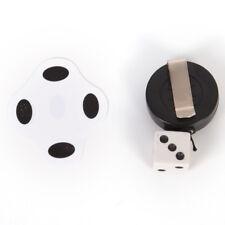 1Pcs Beat Flat Dice Close-up Magic Tricks Dozen Mini Magic Props Toys HF