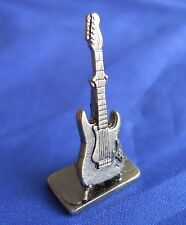 Scene It? Music Edition Electric Guitar Gunmetal Replacement Game Token Mover