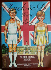 Chuck and Di Have a Baby. Paper Doll Book, Printed by Corgi 1982.