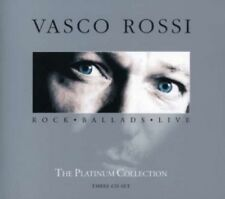 VASCO ROSSI - PLATINUM COLLECTION-ROCK BALLADS LIVE (SPECIAL EDITION) 3 CD  NEW+