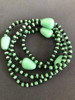 ELEKE Collar De Orisha OGGUN decor Ileke Santeria  Yoruba / Collar Religioso