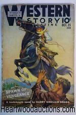 Western Story Oct 21, 1939 Harry Sinclair Drago, Frank Richardson Pierce