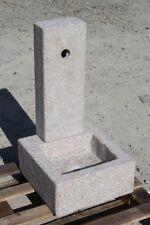FONTANA  IN GRANITO ROSA   DA GIARDINO 85087 H 70 CM no cemento o marmo