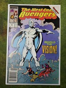 West Coast Avengers 45 White Vision Wanda Vision Newstand