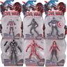 Marvel Captain America Civil War Iron Man Black Panther Ant-Man PVC Figure Toy