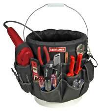 Craftsman 56 Pocket Bucket Bag Organizer Storage Portable Tools Stationery