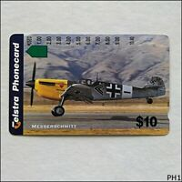 Telstra Messerschmitt Plane N966733a 1381 $10 Phonecard (PH1)