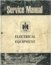 TRATTORE internazionale sm-14 MATERIALE ELETTRICO SM14 Workshop Service Manual