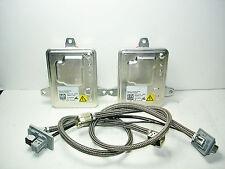 2X New Genuine OEM AL D3S Xenon HID Ballast Kit Set w/ Power Plug Wiring Harness
