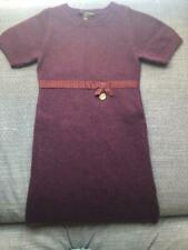Girl Authenticity Louis Vuitton Mini Robe,Wool Dress,Age 8,Winter,Warm,Soft,