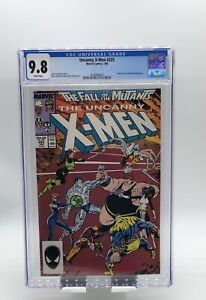 Uncanny X-Men #225 CGC 9.8 WP Freedom Force & Magik Appearance Marvel Comics
