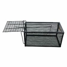 Humane Rat Cage Trap Live Animal Catcher No Poison Pest Control Indoor+Outd U8I4