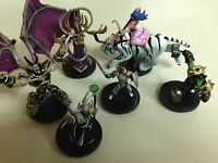 WOW WARCRAFT MINIATURES : COMPLETE CORE ALL 6 EPIC MINI SET