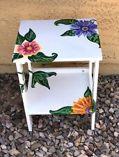 Hand Painted End Table