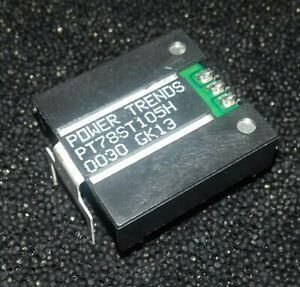 1x 78HT105H POWER TRENDS DC/DC VOLTAGE REGULATOR 5V 1.5A NEW NOT USED OR FAKED!