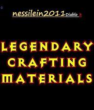 """Diablo 3 Ros Ps4 - Kanai""""s Crafting Mats - 10 x 1.000.000 Mats - HARDCORE"""