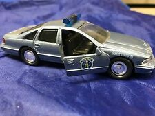 Maine State Police 1:43 Road Champs Toy Chevrolet Caprice Police Car