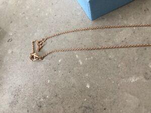 skagen Halskette Farbe Rosegold mit Anhänger wie neu mit Schachtel