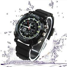 SALE Mini DVR Waterproof HD 1080 Watch Camera Night Vision Camcorder 32GB