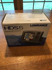 lowrance hds 5 fish finder gps