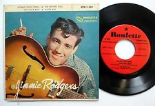 JIMMIE RODGERS Woman from Liberia 45 EP Pic Sleeve ROCKABILLY 1950's w6371