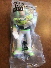 "Vintage Disney Toy Story Buzz Lightyear 10"" NEW Plush Puppet Figure Pixar BK"