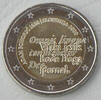 2 Euro Slowenien 2020 Adam Bohoric unz.