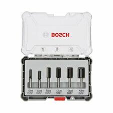 Bosch Nutfräser-Set. 8-mm-Schaft. 6-teilig