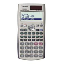 Genuine Casio FC-200V Financial Consultant Calculator 2-way Power Solar/Battery