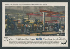 O. Color Advertising Heinrich Socialists Voith Mechanical Paper workers Pagans Home 1944