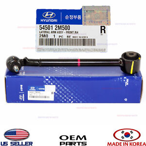 LOWER CONTROL ARM FRONT RIGHT GENUINE HYUNDAI GENESIS COUPE 2013-2016 545012M500