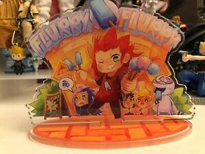 Kingdom Hearts Acrylic Stand Axel Saix Roxas Xion Disney