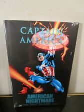Captain America: American Nightmare Marvel Comics HC Hard Cover New Sealed~