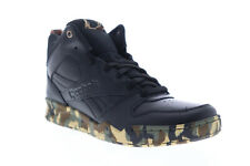 Reebok Royal BB 4500 HI 2 DV8832 Mens Black Leather High Top Sneakers Shoes 9.5