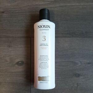 Nioxin System #3 Cleanser Shampoo 10.1oz NWOB