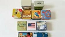 Lot of 11 Fossil Brand Watch Tins