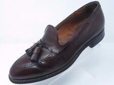 ALDEN Burgundy Maroon 663  Mens Tassel Loafer Dress Shoes 10.5 B/D