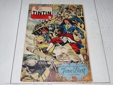 TINTIN 28/04 1955 N°340 HERGE AFFAIRE TOURNESOL DAN COOPER WEINBERG JEAN BART