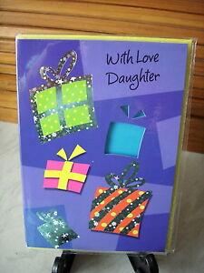 Daughter birthday cards