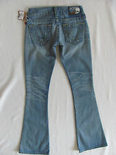 True Religion Caroline Flare Jeans-Vintage Palomi- Skull Patch -Size 24-NWT $297