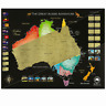 Australia Scratch Map - Large Premium Scratch off Map of Australia New Zealand