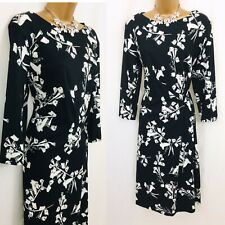 ESCADA Dress Size 16 (44) Floral Occasion Evening Party C813