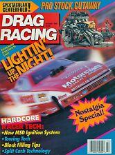 DRAG RACING MAGAZINE OCTOBER 1990, THE GREEK, BALLISTIC BERETTA BRUCE ALLEN