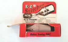 1950's E-Z Stitcher, Original Box w/ Instruction Booklet- Gift for Moms Who Sew