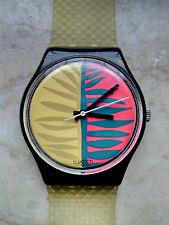 """orologio swatch STANDARD GENT modello """"WAIPITU""""GB113 anno 1987 USATO"""