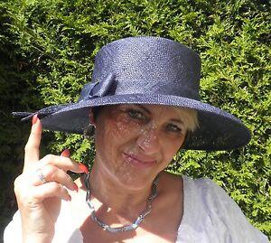 Damen Hut festlich Seeberger Ramiefaser Anlasshut Farbauswahl Eelegant Schick