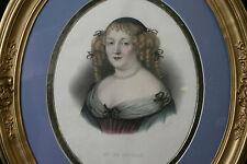 Mme De Sévigné gravure / engraving Mme De Sévigné